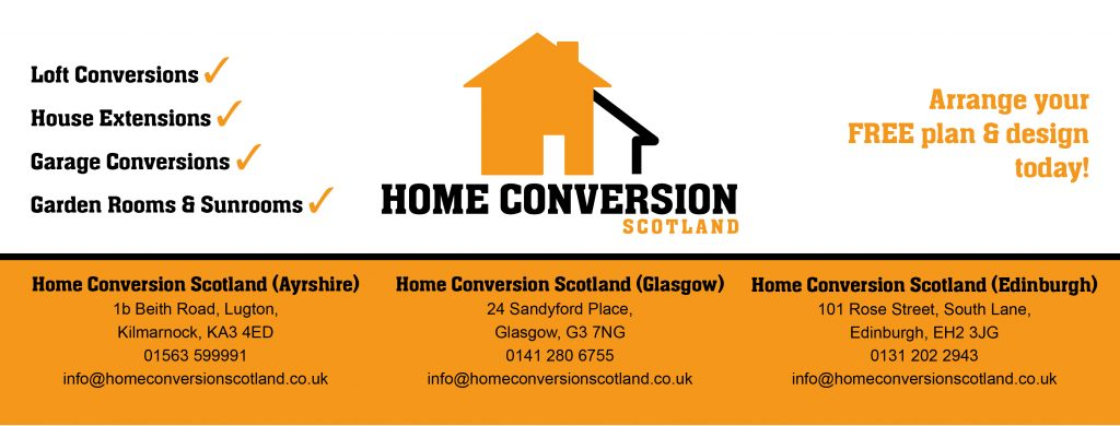 Home Conversion Scotland, Ayrshire, Glasgow, Edinburgh