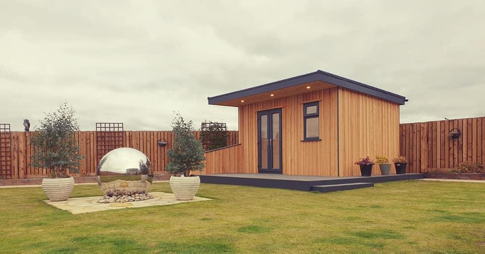 insulated garden room Scotland