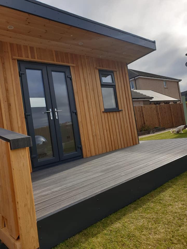 insulated garden rooms Scotland